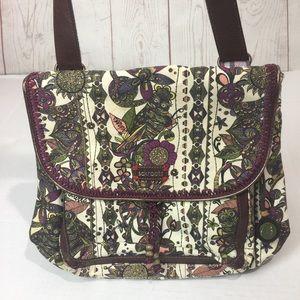 Sakroots | owls + Florals  backpack Crossbody